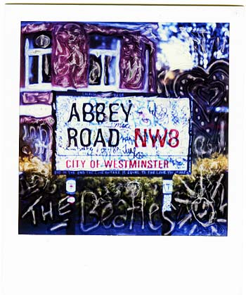abbey road polaroid manipulation